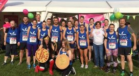 IDAS York 10k run fundraisers
