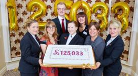 Bettys staff raise money for IDAS