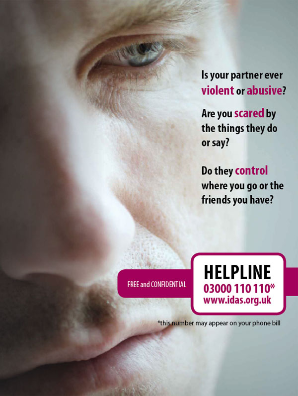 Domestic Abuse Leaflet - male cover image