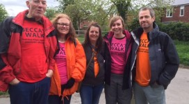 Participants of Becca's Walk