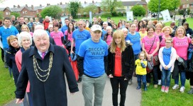 Becca's Walk - Photo Copyright, York Press