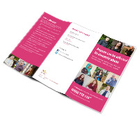 Domestic Abuse Can Happen To Anyone leaflet