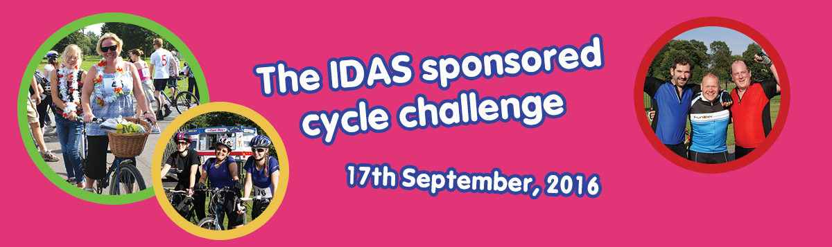 The IDAS sponsored cycle challenge. 17th September, 2016