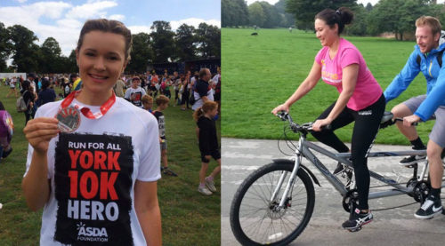 Cycle ride and York 10k