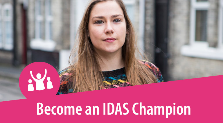 Become an IDAS Champion.