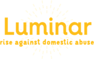 Luminar - against domestic abuse logo
