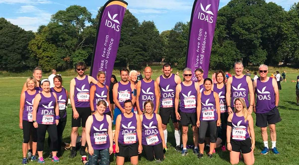 IDAS runners at the York 10K run