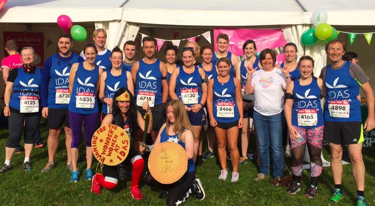 A group of IDAS runners at the York 10K