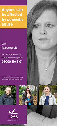 Domestic abuse leaflet