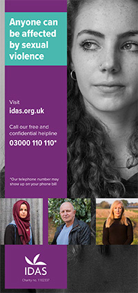 Sexual violence leaflet cover