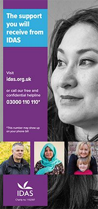 Your support leaflet front cover
