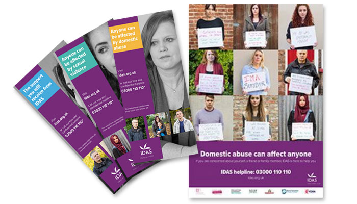 IDAS Leaflets and posters