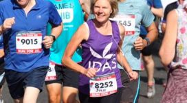 An IDAS runner in the York 10K
