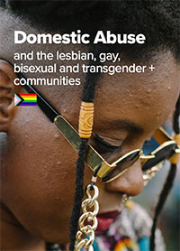 Domestic abuse and the LGBTQ+ communities front cover